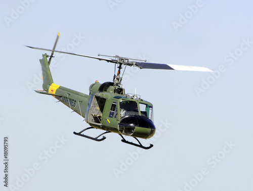 Tuinposter Helicopter US Military helicopter