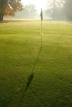 Morning On A Golf Course