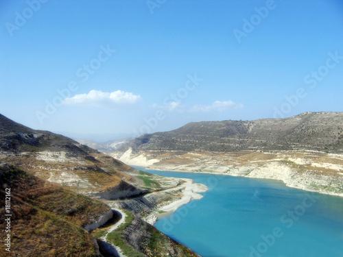 Poster Cote Cyprus dam