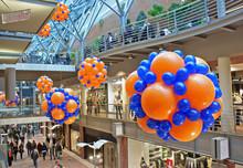 Decoration Balloons In Supermarket