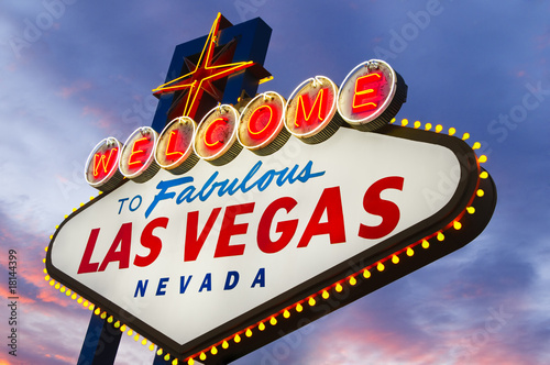 Poster Las Vegas Fabulous Las Vegas Sign