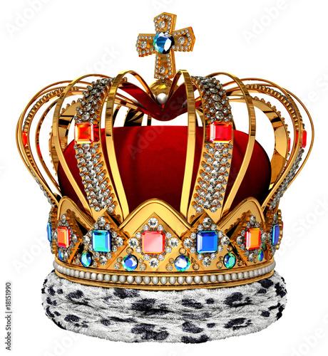 Valokuvatapetti red crown