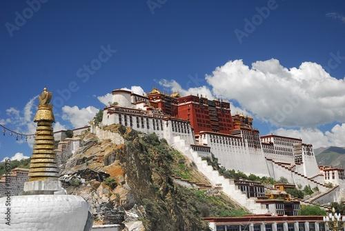 Potala, Lhasa, Tibet, Chine