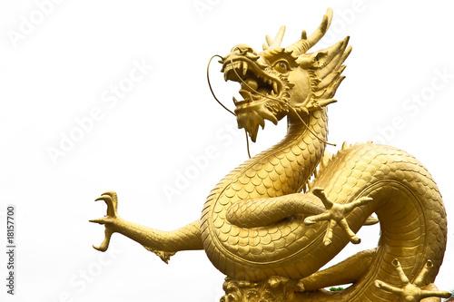 Fotografie, Tablou  Dragon statue