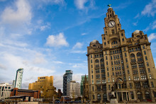 Pier Head In Liverpool