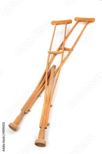 Obraz na płótnie Wooden Crutches