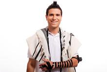 Portrait Of Happy Jewish Man Smiling