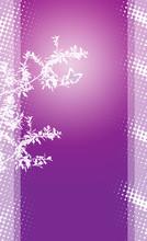 Violet Plant Background