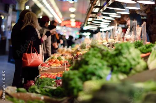 Photo Open-air farmers market