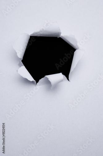Valokuvatapetti Papierloch