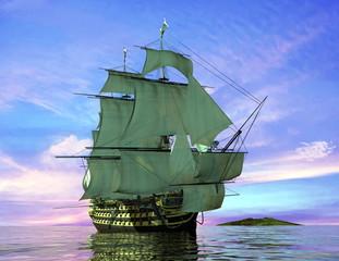 FototapetaThe ancient ship