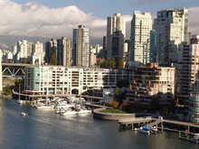 Marina In Vancouver