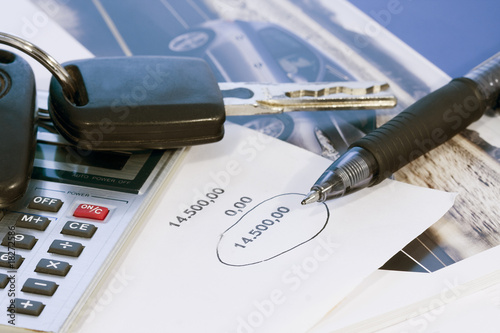 coche, comprar Canvas Print