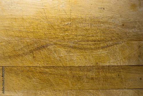 Fotografie, Obraz  vieux fond d'une planche à découper de cuisine en bois