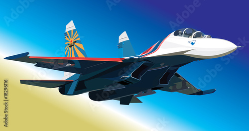 Wall Murals Military Flanker