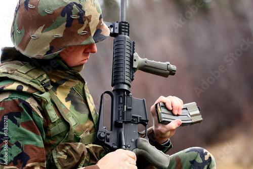 Fotografia, Obraz  in a combat