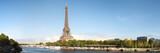 Fototapeta Paryż - famous tour eiffel in Paris