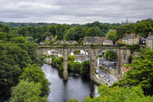 Viaduct In Knaresborough, North Yorkshire, England