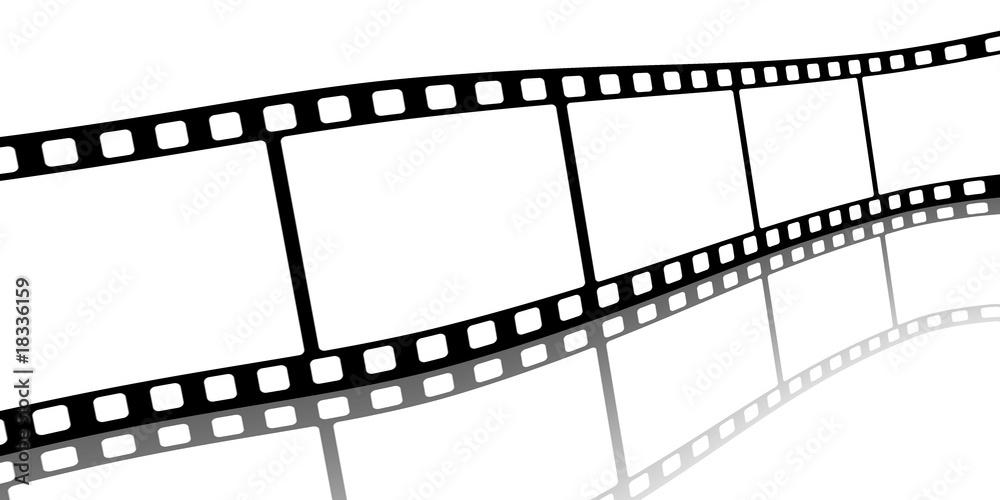 Fototapeta FilmStrip 3D