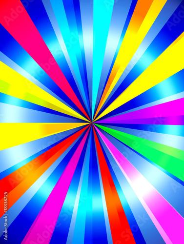 Valokuva  Bright Multicolored Background