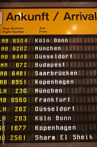 Flughafen Poster