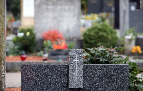 Aluminium Prints Garden Graveyard