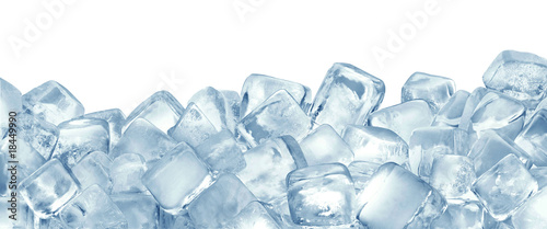 Canvas Prints Water Ice cubes