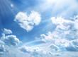 Leinwandbild Motiv Heavenly heart