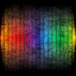 canvas print picture - Rainbow Grunge Layout
