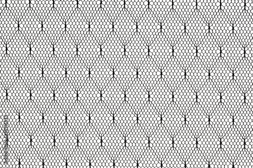 Valokuva  black lace fabric pattern