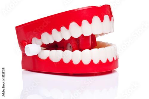 Slika na platnu Chattering teeth