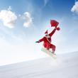 Heldenhafter Weihnachtsmann