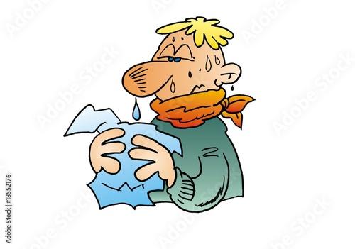 Schnupfen – lästiger Begleiter von Erkältung und Sinusitis