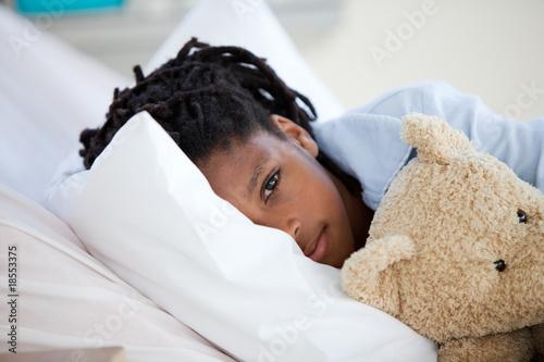 Fotografia  Young Boy in Hospital
