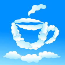 Cloudy Cap Of Tea Or Coffee