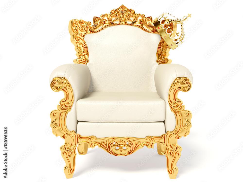 Fototapeta throne