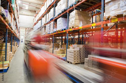 Fotografia  Koncepcja logistyki