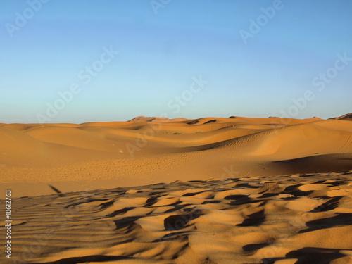 Poster Afrique Sand Wüste - Sand Desert