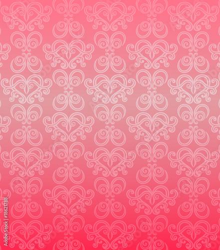 Luxury pink ornamental pattern