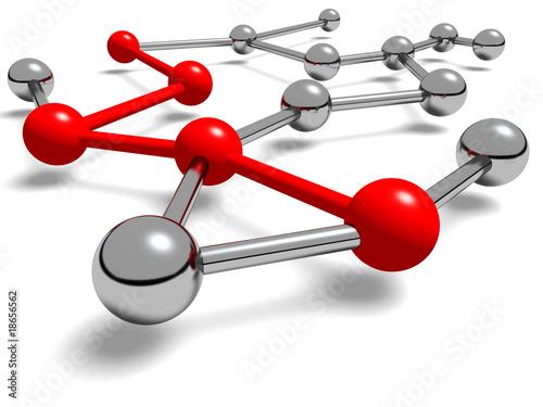 Fotografía  Durchgehende Netzwerk Verbindung