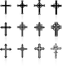 Religious Cross Design Collect...
