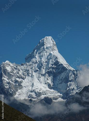 Photo  Everest-Gebiet mit Ama Dablam, Himalaja, Nepal