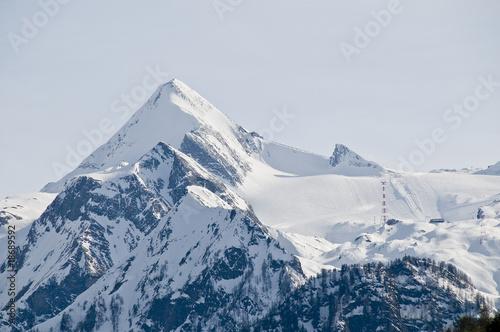 Teren narciarski na lodowcu Kitzsteinhorn