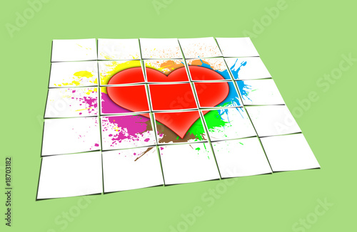 Fototapety, obrazy: Heart