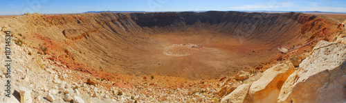 Meteor Crater in Winslow Arizona Fototapet