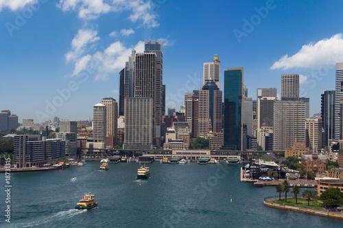 Staande foto Sydney Sydney city panorama