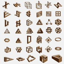 41 Impossible Objects