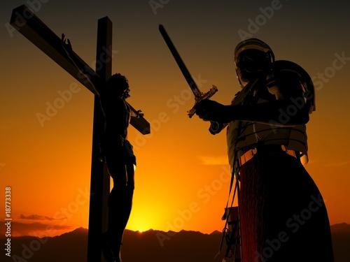 Foto op Canvas Jacht The Christ
