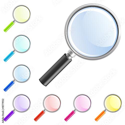 Fotografie, Tablou  magnifier icon