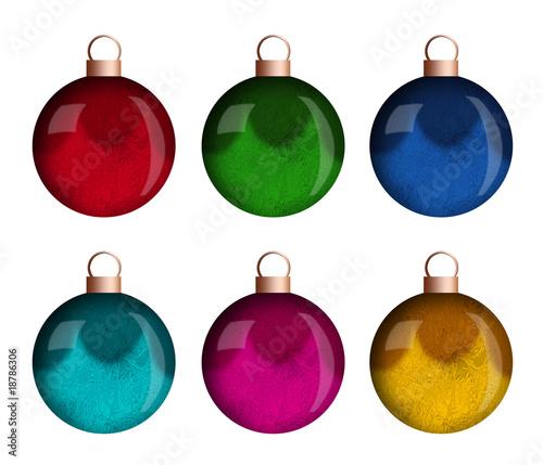 Christbaumkugeln Ornament.Christbaumkugeln In Rgb Und Cmyk Buy This Stock Illustration And